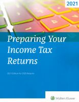 Preparing your Income Tax Returns
