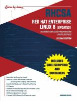 RHCSA Red Hat Enterprise Linux 8