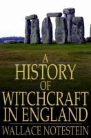 A History of Witchcraft in England