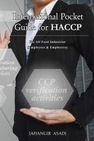 International Pocket Guide for HACCP