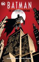Batman, the Adventures Continue