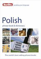 Polish Phrase Book & CD