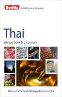 Berlitz Thai Phrase Book & CD