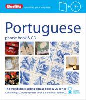 Portuguese Phrase Book & CD