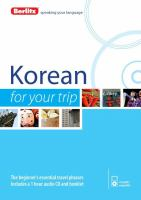 Korean for your Trip
