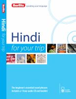 Hindi for your Trip