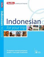 Indonesian for your Trip