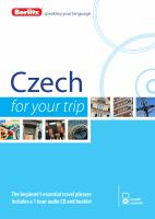 Czech for your trip