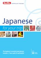 Japanese for your Trip