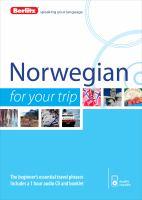 Norwegian for your Trip