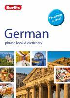 German Phrase Book & Dictionary