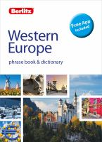Berlitz Western Europe Phrase Book & Dictionary