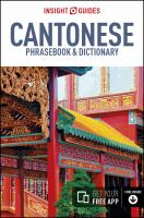 Cantonese Chinese Phrasebook & Dictionary