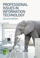 Professional Issues in Information Technology, Second Edition