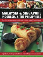 The Food and Cooking of Malaysia & Singapore, Indonesia & the Philippines