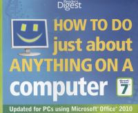 How to Do (just About) Anything on A Computer, Microsoft Windows 7