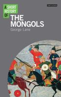 Short History of The Mongols