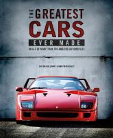 The Greatest Cars Ever Made