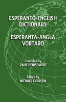 Esperanto-English Dictionary