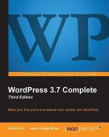 WordPress 3.7 Complete