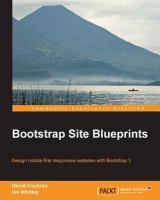 Bootstrap Site Blueprints