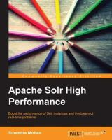 Learning Apache Solr High Performance
