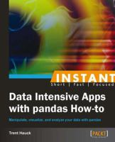 Instant Data Intensive Apps With Pandas How-to