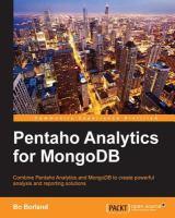 Pentaho Analytics for MongoDB