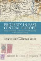 Property in East Central Europe