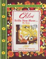 Chloe Tells You How ... to Sew