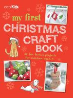 My First Christmas Craft Book