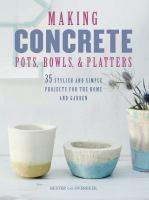 Making Concrete Pots, Bowls, & Platters