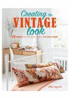 Creating the Vintage Look