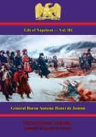 Life of Napoleon, Volume Iii