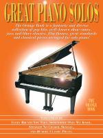 Great Piano Solos – The Orange Book
