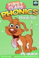First Class Phonics, Book 6