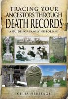 Tracing your Ancestors Through Death Records