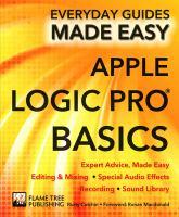 Apple Logic Pro Basics