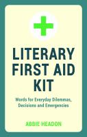 Literary First Aid Kit