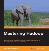 Mastering Hadoop