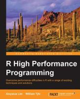 R High Performance Programming