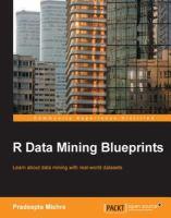 R Data Mining Blueprints