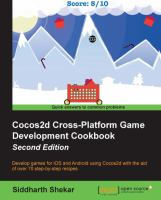Cocos2d Cross-platform Game Development Cookbook