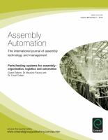 Parts-feeding Systems for Assembly
