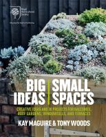 Big Ideas, Small Spaces