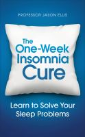 One-week Insomnia Cure