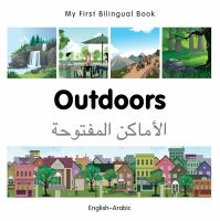 My First Bilingual Book-Outdoors (English-Arabic)