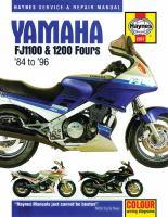 Yamaha FJ1100 & 1200 Fours Service and Repair Manual