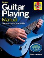 Haynes Guitar Playing Manual