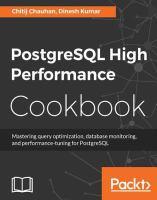 PostgreSQL High Performance Cookbook